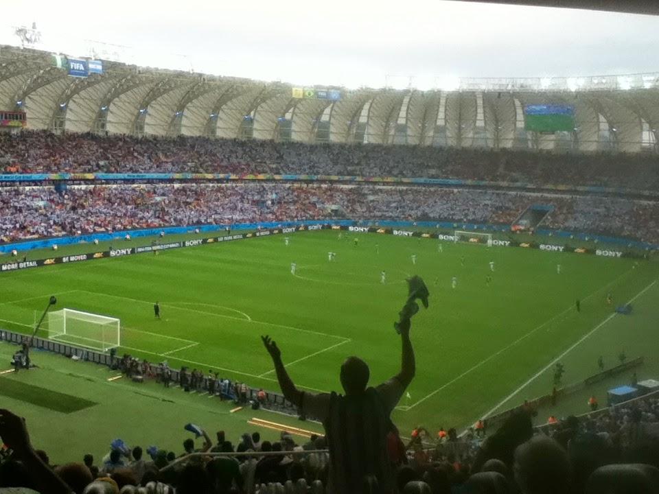 Nigeria v Argentina, Porto Alegre