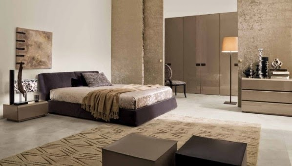 Combinaisons de couleur modernes pour chambre à coucher ~ Décor de ...