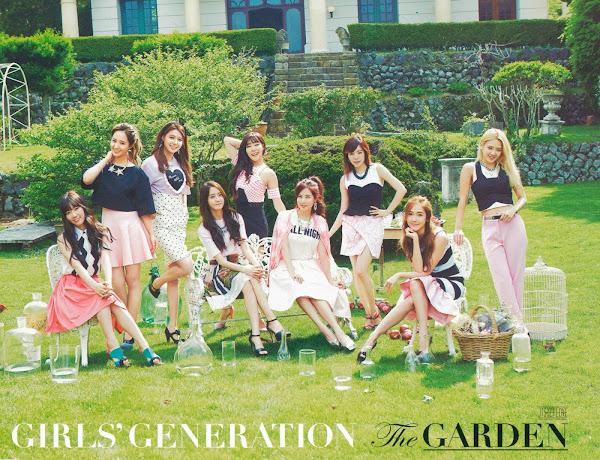 SNSD The Best Scans The Garden