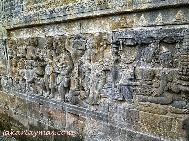 Grabados en el Borobudur