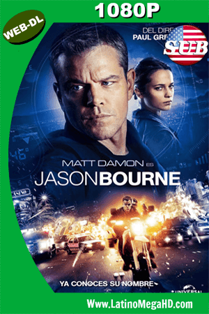 Jason Bourne (2016) Subtitulado HD WEB-DL 1080P ()