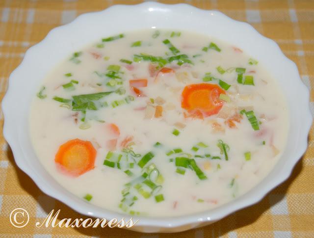 Густой суп из красной чечевицы