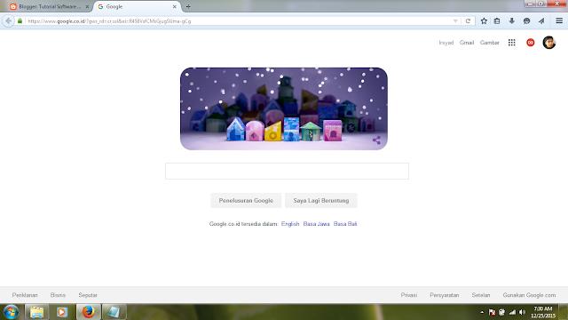 Rayakan Libur Natal dan Tahun Baru, Google Pajang Doodle Lucu