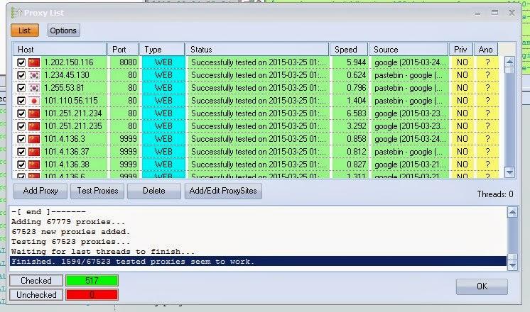 Tools Untuk Scraping Proxy di GSA SER