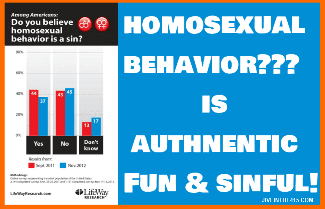 Lifeway Research survey results homosexual behavior January 2013