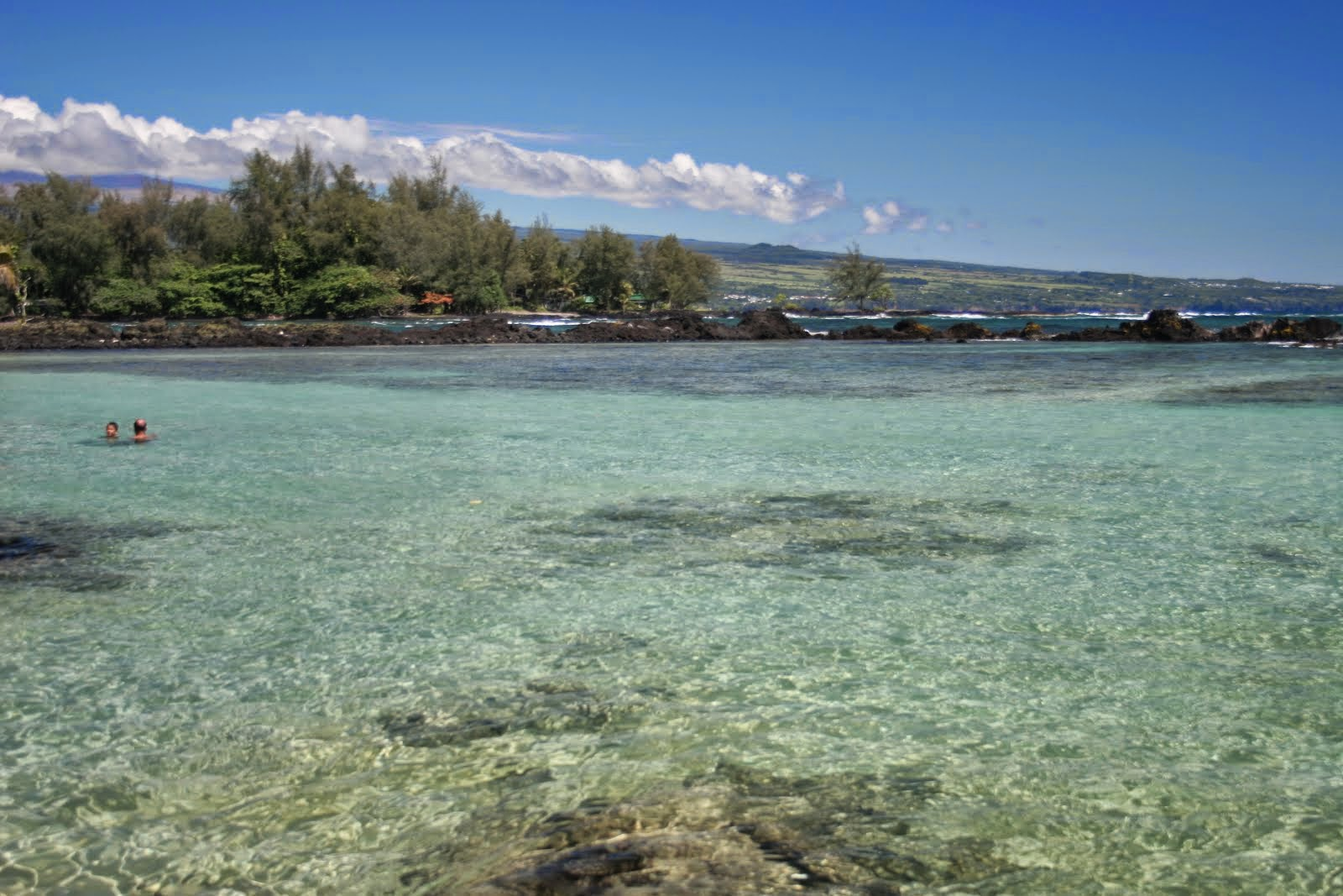 Beach on the Hilo side