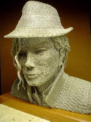 Esculturas Hechas de Alambre