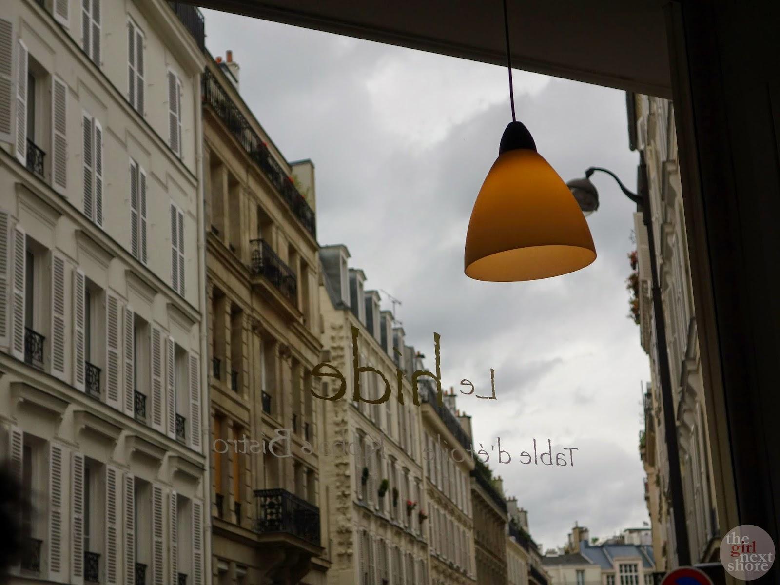 Le Hide (Paris): where a day of foie & escargot began
