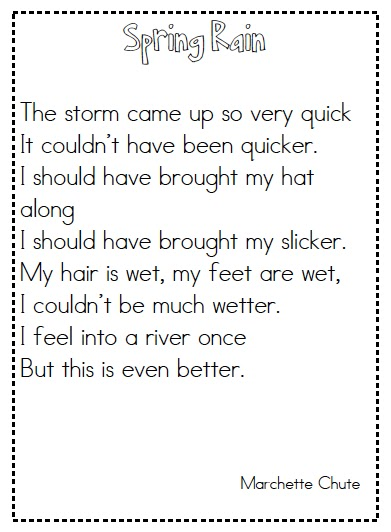 math worksheet : joyful learning in kc spring poems : Winter Poems For Second Graders