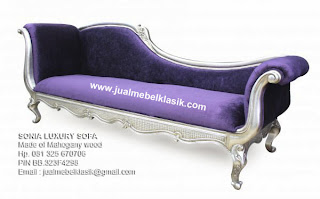 Supplier wooden sofa lounger sofa mahogany silver painted leaf