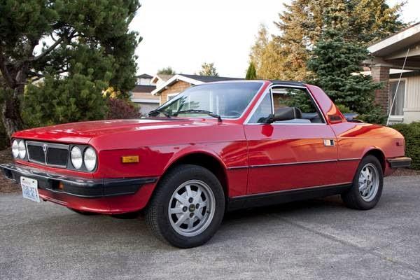 Daily Turismo  5k  Molto Bello  1981 Lancia Beta Zagato