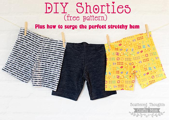 Free short pattern (size 3 to 8)