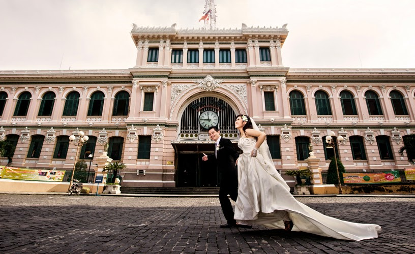 Ảnh cưới chụp tại nhà hát lớn
