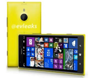 Nokia Lumia 1520 bocoran, Nokia Lumia 1520 spesifikasi
