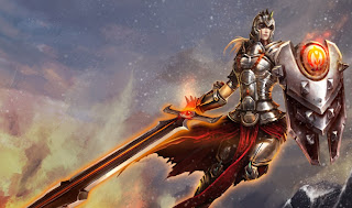 Chinese Defender Leona Wallpaper