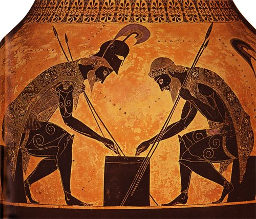an analysis of the changes for achilles in the greek mythology Achilles was a hero in greek mythology and one of the main characters that  participated in the trojan war he was also the protagonist of homer.