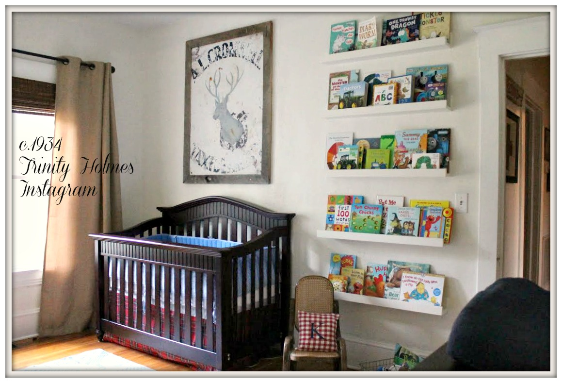 Eclectic Baby Boy Nursery-From My Front Porch To Yours-How I Found My Style Sundays- c.1934 Trinity Holmes Instagram