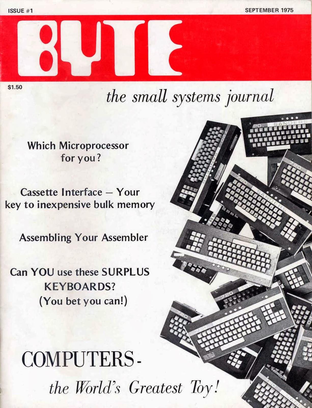Byte Magazine #1