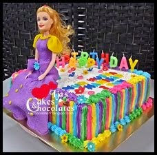 Princess-Birthday Cake