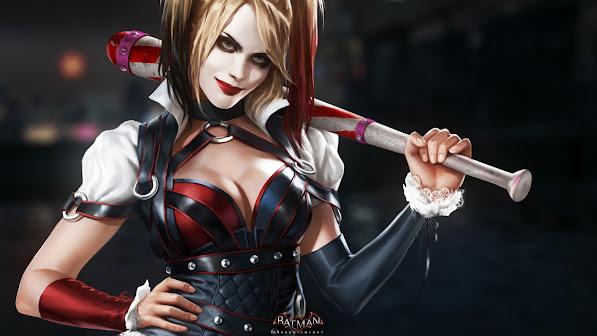 Harley Quinn Arkham Knight 2w