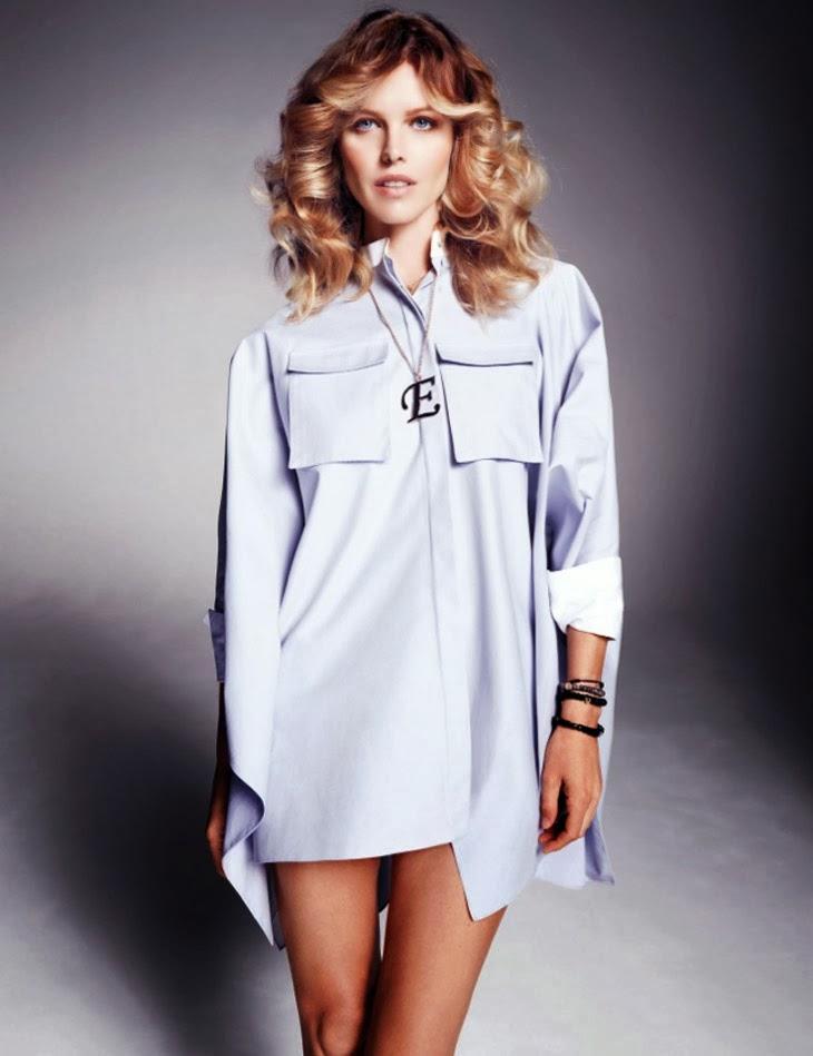 Magazine Photoshoot : Eva Herzigova Photoshot For Marcin Tyszka Vogue Magazine Thailand January 2014 Issue