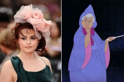 Helena Bonham Carter será la hada madrina de 'Cinderella'