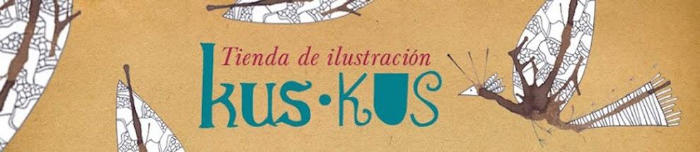 KUS KUS, Tienda de ilustración