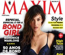 Bérénice Marlohe Maxim Portugal Novembro 2012