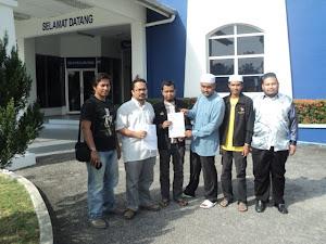 Saf Pimpinan DPPKM Membuat Laporan Polis