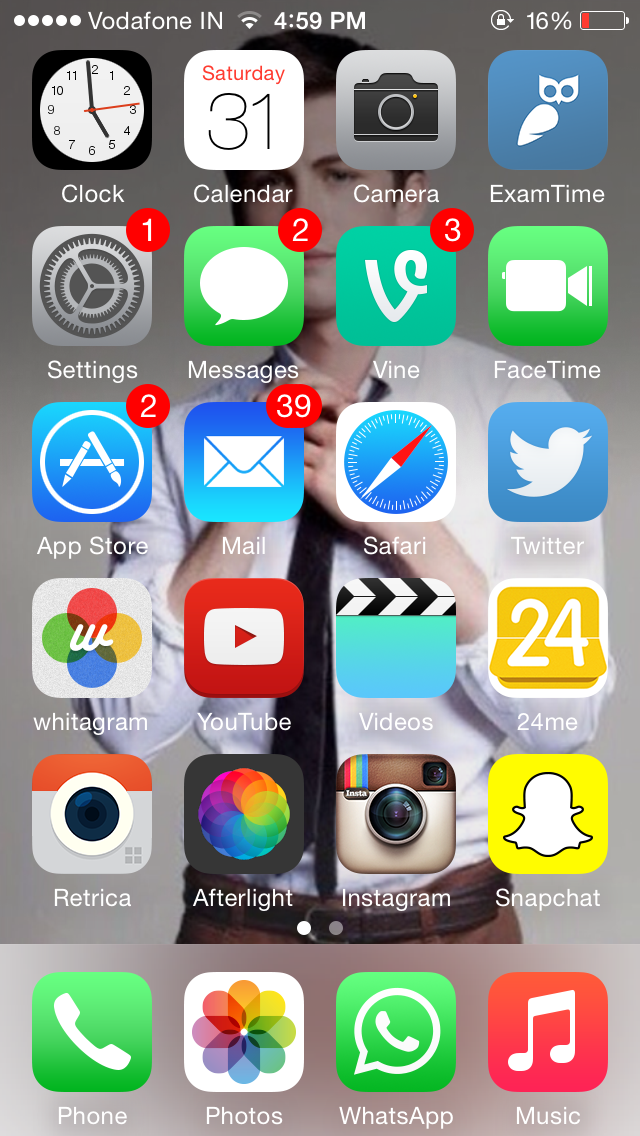 Just Whims of Craze: What's on my iPhone