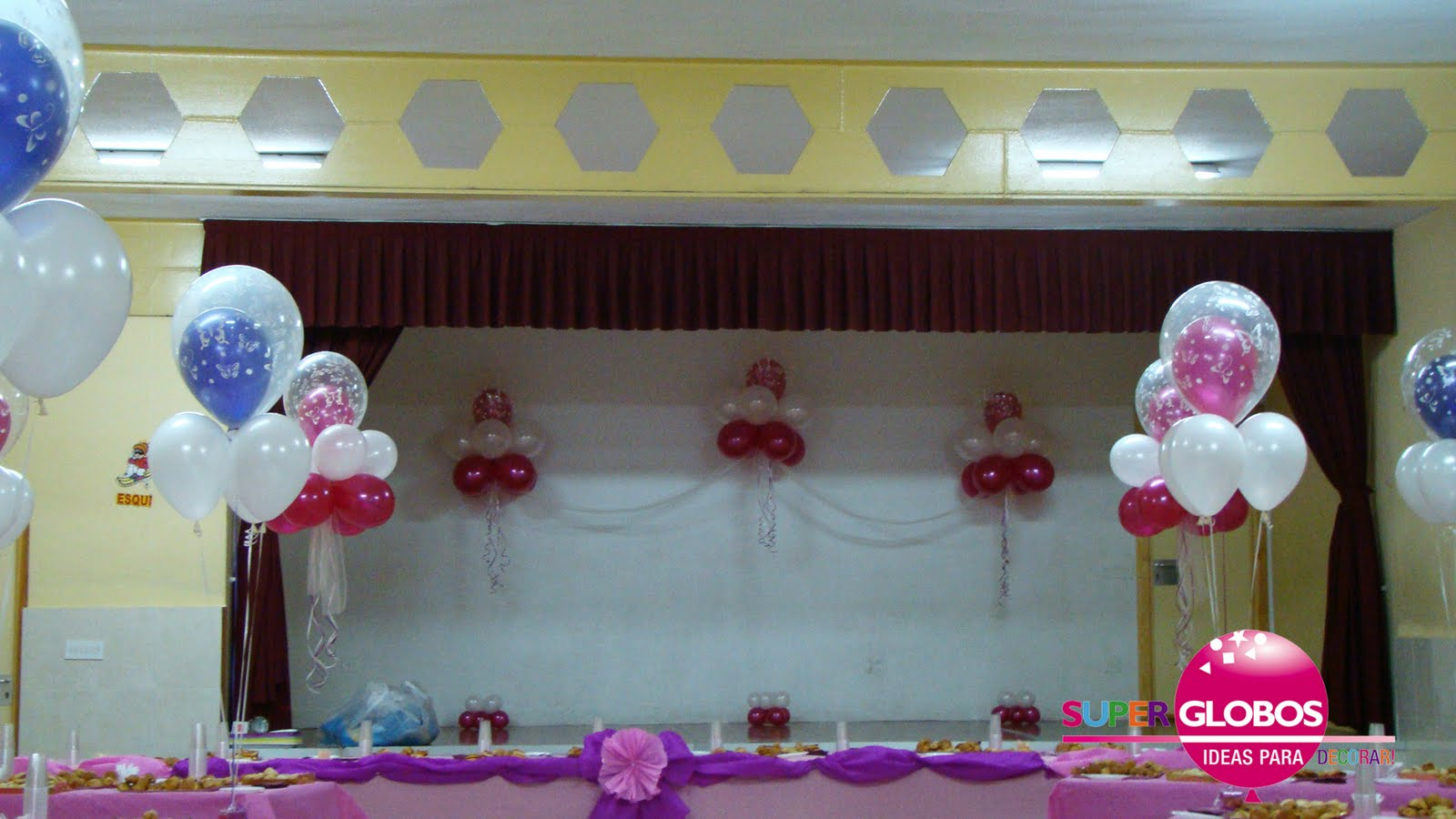 Decoracion actos de graduacion for Decoraciones para decorar