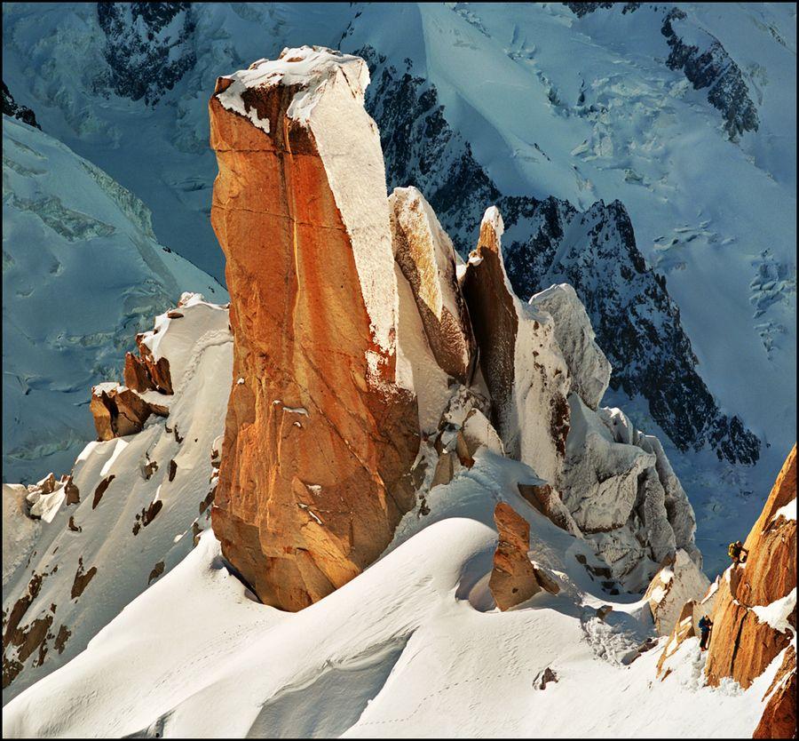 21. Massif Mont-Blanc, Aiguille du Midi, Cosmiques ridge by Katarina Stefanović