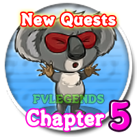FarmVille Australia Chapter Fifth (5) Quests Icon