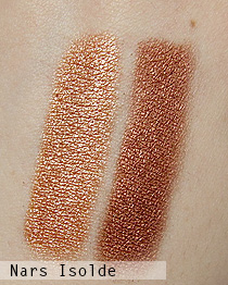 nars isolde swatches