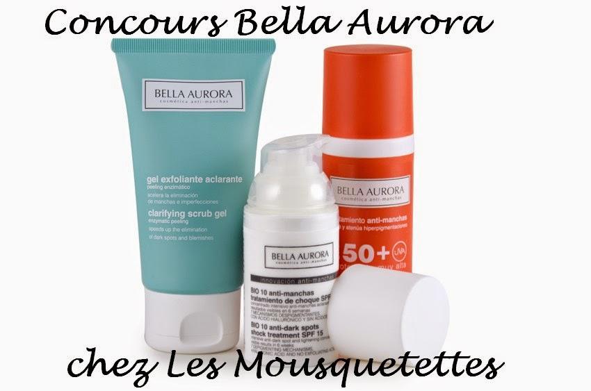 Résultat #concours Bella Aurora - Les Mousquetettes