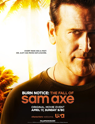 Burn Notice: The Fall of Sam Axe Television Movie Poster