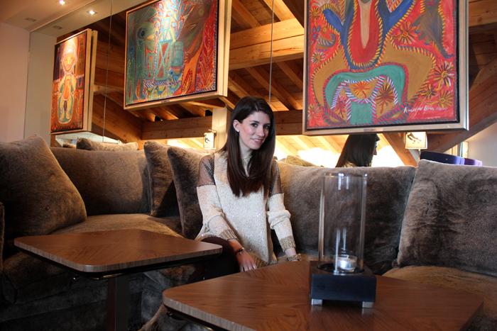diana dazzling, fashion blogger, fashion blog,  cmgvb, como me gusta vivir bien, dazzling, luxury, courchevel, courchevel 1850,luxury hotel,Le Strato,ski,outfit,estola,stole