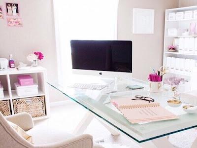 home office escritorio delicado