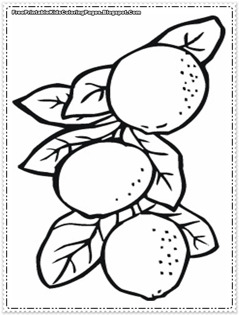 orange juice coloring pages - photo#33