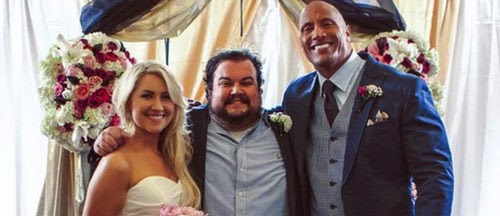 Dwayne Johnson Wedding Surprise