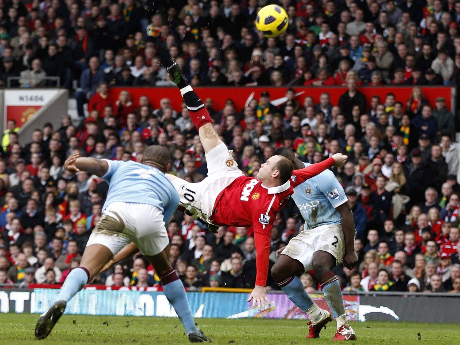 Wayne Rooney Overhead Kick Vs Man City