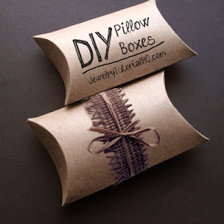 DIY Pillow Boxes tutorial video