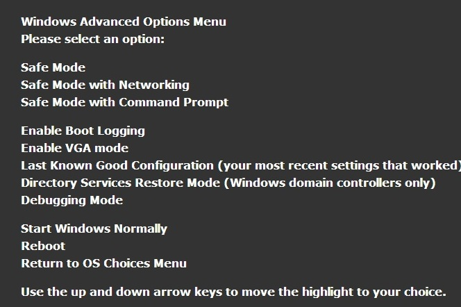 how to stop a laptop from booting in safe mode