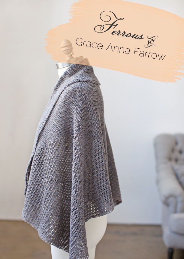 Summer Shawl Knitting Pattern : Creating Laura: 5 Awesome Warm Weather Knitting Patterns