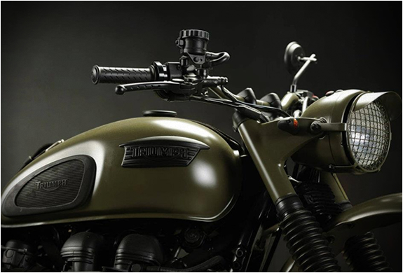 TRIUMPH DESERT | CUSTOM TRIUMPH SCRAMBLER | CUSTOM MOTORCYCLE | BY DRAGS AND RACING