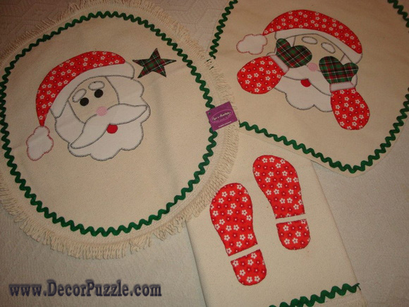 Christmas bathroom rug sets, bath mats 2015, bathroom rugs and carpets