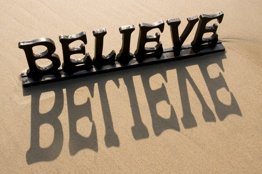 This Writer's World & Plot Bunnies: Believe