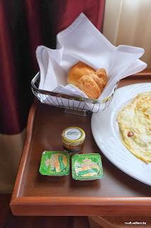 CrownPlaza hotel in Minsk - breakfast