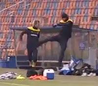 patada de Zlatan Ibrahimovic
