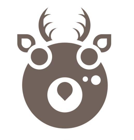 Le logo du sentier du Cerf à Concise